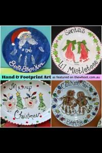 xmas handprint ideas