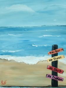 Canvas Beach Post