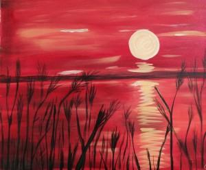 Canvas Sunset