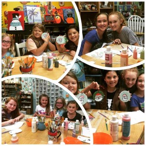 girlscouts painting