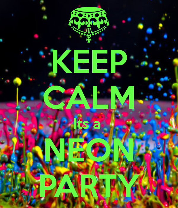 Kids Neon Glow Painting Party