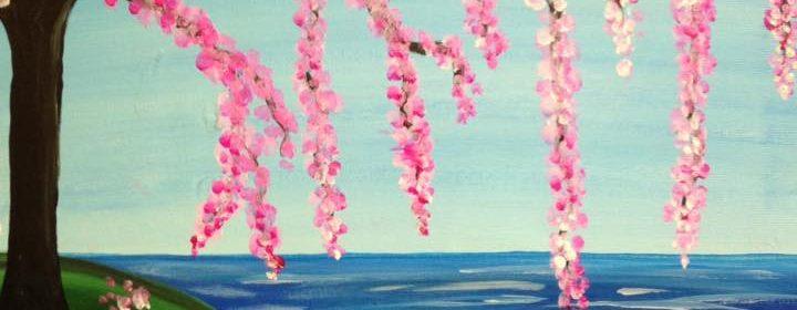 canvas pink tree 8 31