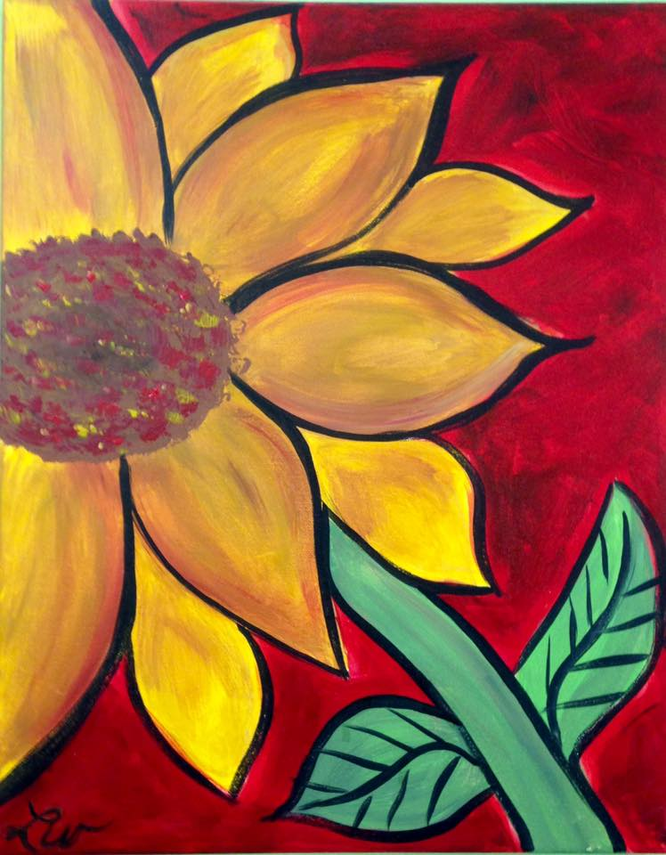 Creative spirits canvas bisque it a fun art studio for Canvas painting classes